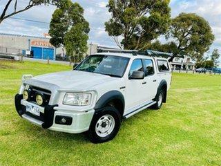 2008 Ford Ranger PJ 07 Upgrade XL (4x2) White 5 Speed Manual Dual Cab Pick-up.