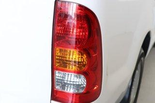 2010 Toyota Hilux KUN16R MY10 SR 4x2 White 5 Speed Manual Utility
