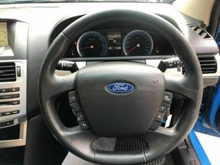 2010 Ford Falcon FG Upgrade XR6 Blue 6 Speed Auto Seq Sportshift Sedan