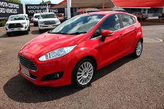 2014 Ford Fiesta WZ Sport Red 5 Speed Manual Hatchback.