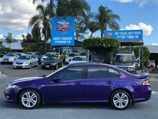 2009 Ford Falcon FG XR6 Purple 5 Speed Sports Automatic Sedan