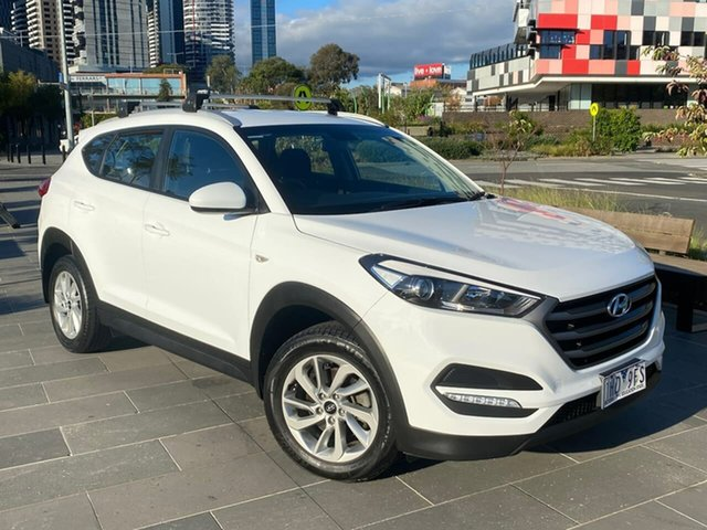 Used Hyundai Tucson TLE Active 2WD South Melbourne, 2016 Hyundai Tucson TLE Active 2WD White 6 Speed Sports Automatic Wagon