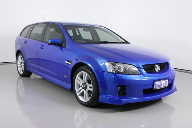 Used Holden Commodore VE MY09.5 SS Bentley, 2009 Holden Commodore VE MY09.5 SS Blue 6 Speed Automatic Sportswagon