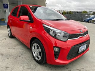 2018 Kia Picanto JA MY18 S Red 4 Speed Automatic Hatchback.