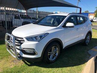 2018 Hyundai Santa Fe DM5 MY18 Active CRDi (4x4) White 6 Speed Automatic Wagon
