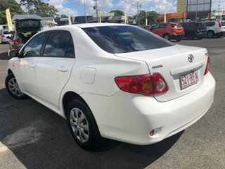 2009 Toyota Corolla ZRE152R Ascent White 4 Speed Automatic Sedan