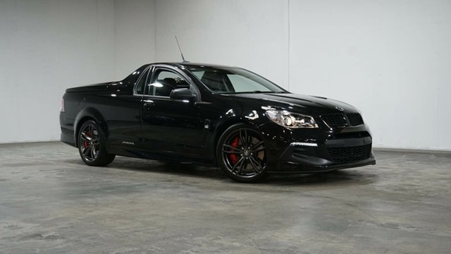 Used Holden Special Vehicles Maloo Gen-F2 MY16 R8 LSA Welshpool, 2015 Holden Special Vehicles Maloo Gen-F2 MY16 R8 LSA Black 6 Speed Sports Automatic Utility