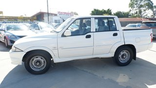 2005 Ssangyong Musso Sports 4x2 White 5 Speed Manual Utility