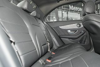 2018 Mercedes-Benz C-Class W205 809MY C200 9G-Tronic Selenite Grey 9 Speed Sports Automatic Sedan