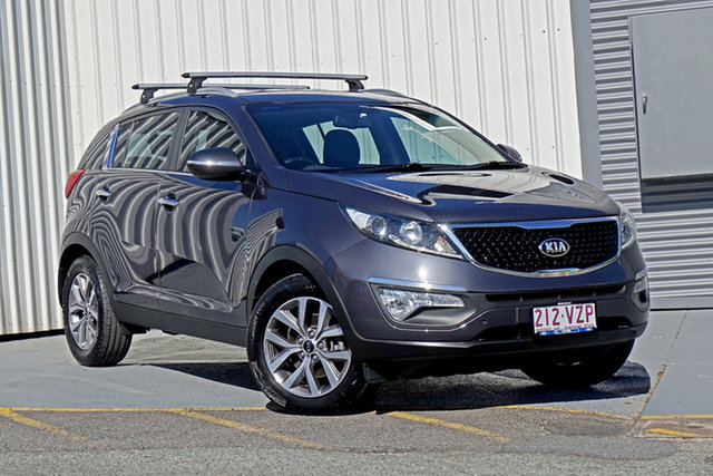 Used Kia Sportage SL MY14 Si 2WD Premium Springwood, 2015 Kia Sportage SL MY14 Si 2WD Premium Grey 6 Speed Sports Automatic Wagon