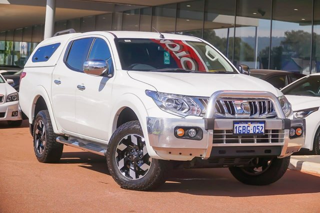 Used Mitsubishi Triton MQ MY16 Exceed Double Cab Gosnells, 2016 Mitsubishi Triton MQ MY16 Exceed Double Cab White 5 Speed Sports Automatic Utility
