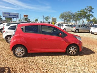 2011 Holden Barina Spark Red 5 Speed Manual Hatchback