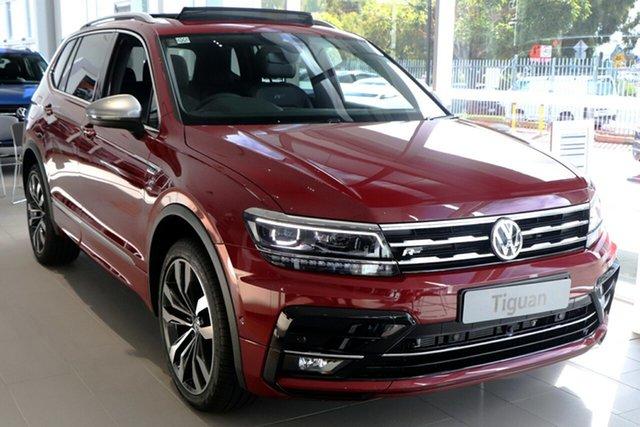 New Volkswagen Tiguan 5N MY21 162TSI Highline DSG 4MOTION Allspace Port Melbourne, 2020 Volkswagen Tiguan 5N MY21 162TSI Highline DSG 4MOTION Allspace Red 7 Speed