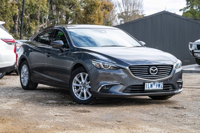 Used Mazda 6 GL1031 Touring SKYACTIV-Drive Mornington, 2017 Mazda 6 GL1031 Touring SKYACTIV-Drive 46g 6 Speed Sports Automatic Sedan