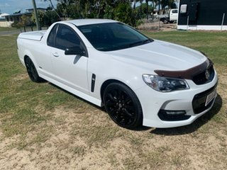 2016 Holden Commodore BLACK SV6 White 6 Speed Automatic Utility.