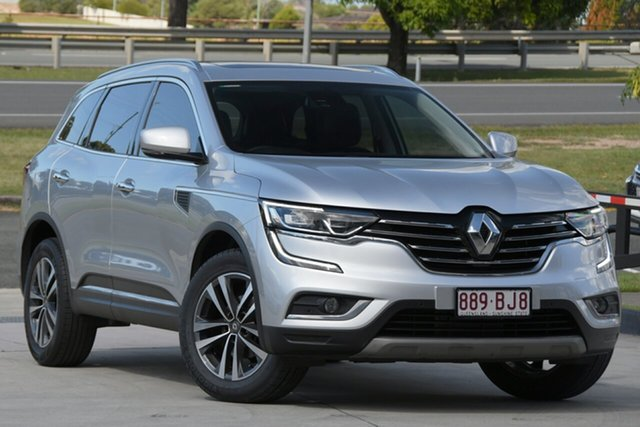 Used Renault Koleos HZG Intens X-tronic North Lakes, 2017 Renault Koleos HZG Intens X-tronic Silver 1 Speed Constant Variable Wagon