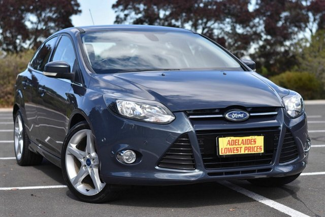 Used Ford Focus LW MkII Titanium PwrShift Enfield, 2012 Ford Focus LW MkII Titanium PwrShift Grey 6 Speed Sports Automatic Dual Clutch Sedan