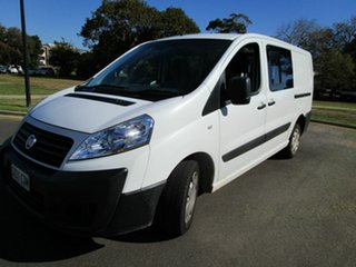 2014 Fiat Scudo MY13 LWB White 6 Speed Manual Van