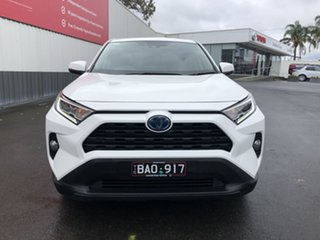 2019 Toyota RAV4 Axah52R GX 2WD Glacier White 6 Speed Constant Variable Wagon Hybrid