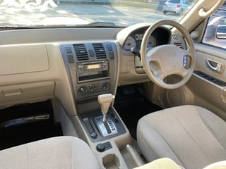2006 Hyundai Terracan CRDi Silver 4 Speed Automatic Wagon