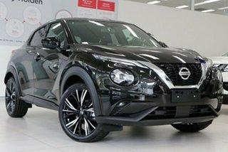 2020 Nissan Juke F16 Ti DCT 2WD Pearl Black 7 Speed Sports Automatic Dual Clutch Hatchback.