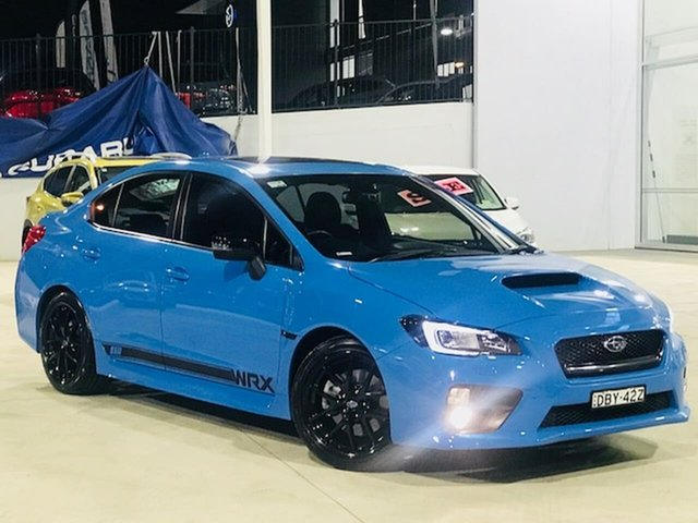 Used Subaru WRX V1 MY16 Hyper Blue Lineartronic AWD Liverpool, 2015 Subaru WRX V1 MY16 Hyper Blue Lineartronic AWD Blue 8 Speed Constant Variable Sedan