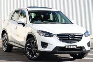 2016 Mazda CX-5 KE1032 Akera SKYACTIV-Drive AWD Snowflake White 6 Speed Sports Automatic Wagon.