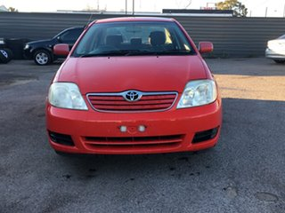2004 Toyota Corolla ZZE122R Ascent Red 4 Speed Automatic Sedan