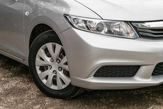 2012 Honda Civic 9th Gen Ser II VTi Alabaster Silver 5 Speed Sports Automatic Sedan.