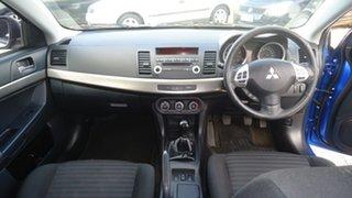 2012 Mitsubishi Lancer CJ MY12 ES Sportback Blue 5 Speed Manual Hatchback.