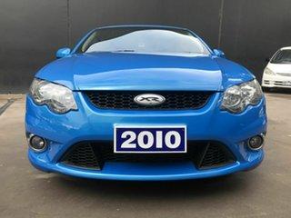 2010 Ford Falcon FG Upgrade XR6 Blue 6 Speed Auto Seq Sportshift Sedan.