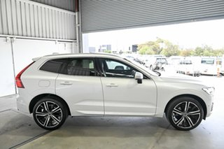 2018 Volvo XC60 UZ MY19 T6 AWD R-Design White 8 Speed Sports Automatic Wagon