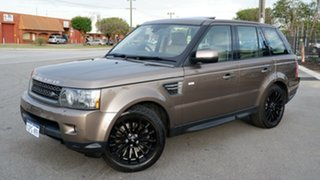 2010 Land Rover Range Rover Sport L320 11MY TDV6 Luxury Bronze 6 Speed Sports Automatic Wagon.