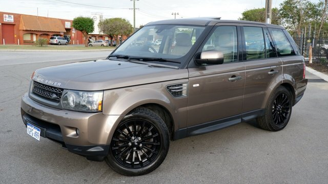 Used Land Rover Range Rover Sport L320 11MY TDV6 Luxury Maddington, 2010 Land Rover Range Rover Sport L320 11MY TDV6 Luxury Bronze 6 Speed Sports Automatic Wagon