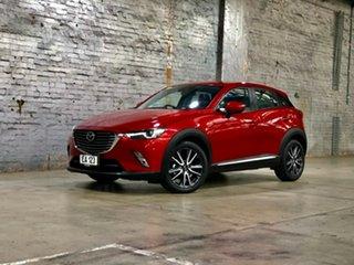 2017 Mazda CX-3 DK2W7A Akari SKYACTIV-Drive Black 6 Speed Sports Automatic Wagon.