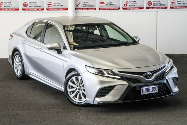 Pre-Owned Toyota Camry ASV70R Ascent Sport Myaree, 2019 Toyota Camry ASV70R Ascent Sport Silver Pearl 6 Speed Sports Automatic Sedan