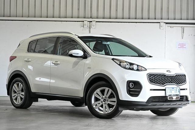 Used Kia Sportage QL MY17 Si AWD Laverton North, 2016 Kia Sportage QL MY17 Si AWD White 6 Speed Sports Automatic Wagon