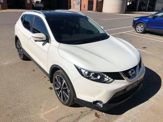 2017 Nissan Qashqai J11 TL White 1 Speed Constant Variable Wagon