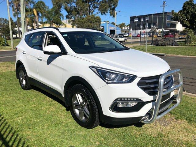 Used Hyundai Santa Fe DM5 MY18 Active CRDi (4x4) Toowoomba, 2018 Hyundai Santa Fe DM5 MY18 Active CRDi (4x4) White 6 Speed Automatic Wagon