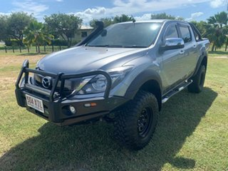 2017 Mazda BT-50 XTR Silver 6 Speed Manual Dual Cab