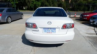 2005 Mazda 6 GG1032 Classic White 5 Speed Sports Automatic Sedan