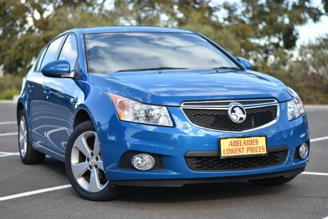 Used Holden Cruze JH Series II MY13 Equipe Enfield, 2013 Holden Cruze JH Series II MY13 Equipe Blue 5 Speed Manual Hatchback