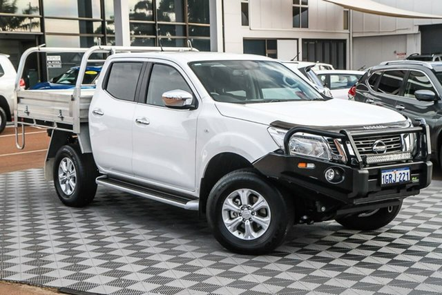 Used Nissan Navara D23 S3 ST Attadale, 2018 Nissan Navara D23 S3 ST White 6 Speed Manual Utility