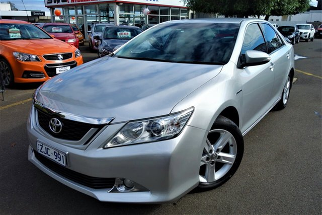 Used Toyota Aurion GSV50R Touring Seaford, 2012 Toyota Aurion GSV50R Touring Silver 6 Speed Sports Automatic Sedan