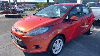 2012 Ford Fiesta WT LX Chilli Orange 5 Speed Manual Sedan.