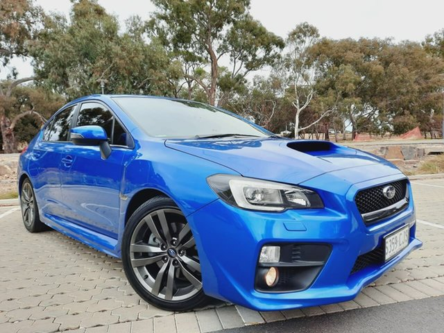 Used Subaru WRX V1 MY17 Premium Lineartronic AWD Adelaide, 2016 Subaru WRX V1 MY17 Premium Lineartronic AWD Blue 8 Speed Constant Variable Sedan