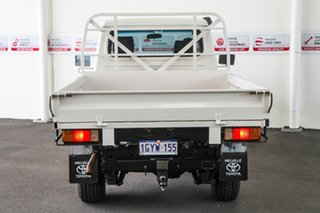 2013 Toyota Landcruiser VDJ79R MY12 Update GX (4x4) French Vanilla 5 Speed Manual Cab Chassis