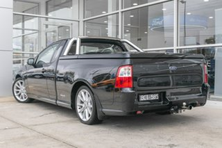 2013 Ford Falcon FG MkII XR6 Ute Super Cab Black 6 Speed Sports Automatic Utility