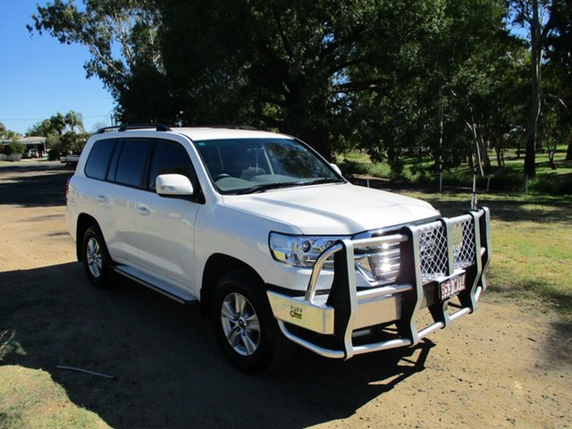 Pre-Owned Toyota Landcruiser VDJ200R MY16 GXL (4x4) Roma, 2017 Toyota Landcruiser VDJ200R MY16 GXL (4x4) Glacier White 6 Speed Automatic Wagon