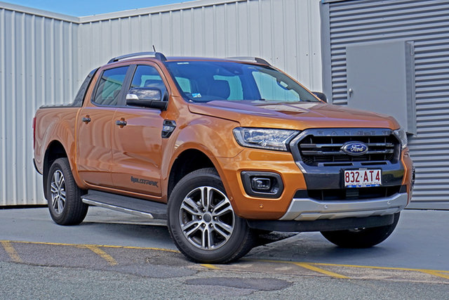 Used Ford Ranger PX MkIII 2020.75MY Wildtrak Springwood, 2020 Ford Ranger PX MkIII 2020.75MY Wildtrak Bronze 6 Speed Sports Automatic Double Cab Pick Up